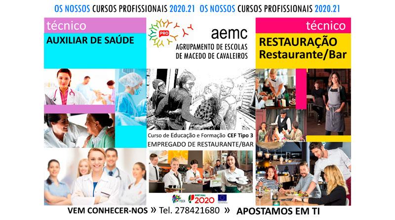 AEMC – Oferta Formativa 2020/2021